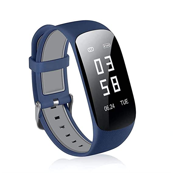 Amazon.com: Health Smart Watch Smart Bluetooth Bracelet 68 ...