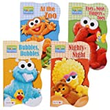 Sesame Street Beginnings Board Books (Set of 4)