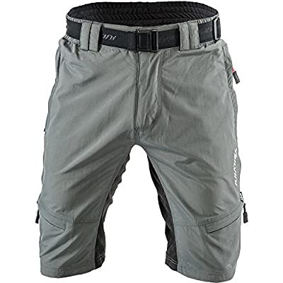 SILVINI Men's Shorts Rango with 6 Pockets for Cycling and All Other Outdoor Activities