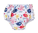 ATTRACO Infant Baby Girls Swimming Nappies Reusable
