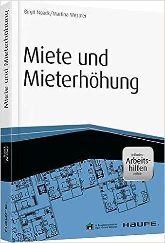 Miete Und Mieterhöhung Inkl Arbeitshilfen Online Haufe Fachbuch