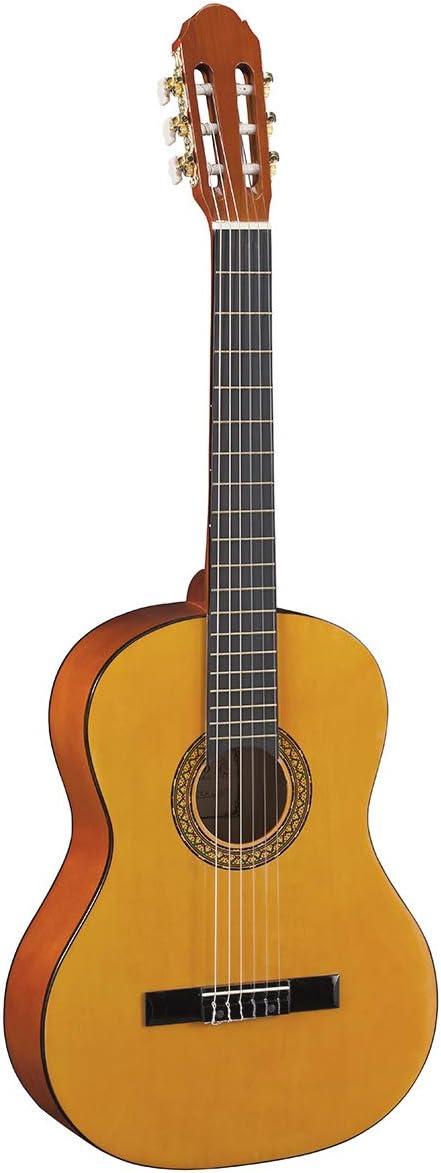 Toledo pack de iniciación 4/4 guitarra clásica española con funda ...
