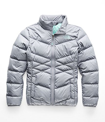 (The North Face Girl's Andes Down Jacket - Mid Grey - M)