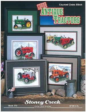 More Antique Tractors - Cross Stitch - Creek Patterns Cross Stitch Stoney