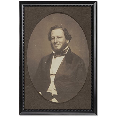 ClassicPix Framed Print 11x17: Judah P. Benjamin, Senator from Louisiana, Half-Length Portrait.