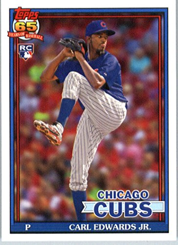 2016 Topps Archives #268 Carl Edwards Jr. Chicago Cubs RC Baseball Rookie Card in Protective Screwdown Display Case