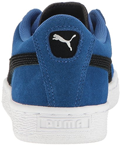 Puma Kids' Suede Jr Sneaker True Blue-puma Black D1EuxtW