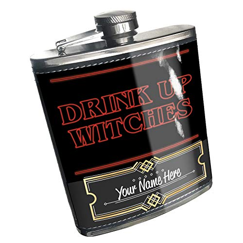 Neonblond Flask Drink Up Witches Halloween Strange and