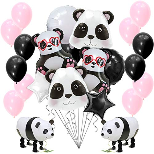 - KREATWOW Panda Balloons Party Decorations Panda Mylar Walking Balloons for Kids Birthday Party Decorations