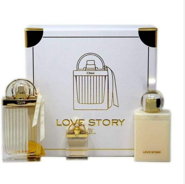 CHLOE LOVE STORY EDP 75 ML + B/L 100 ML + MINI 7.5 ML SET REGALO: Amazon.es: Belleza