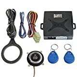 start module - BANVIE Car RFID Immobilizer Hidden Lock System with Keyless Go Engine Start Stop Push Button for Vehicle Double Layer Start Protection