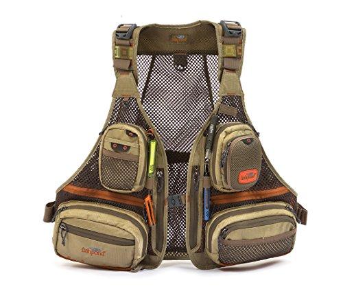 Alpine Vest (Fishpond Sagebrush Mesh Vest, Driftwood)