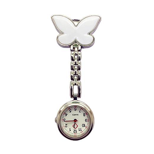 TrifyCore Reloj de Bolsillo médico Especial de la Enfermera de la decoración de la Mariposa de