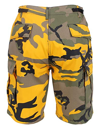 - Rothco Colored BDU Shorts, Stinger Yellow Camo, Large