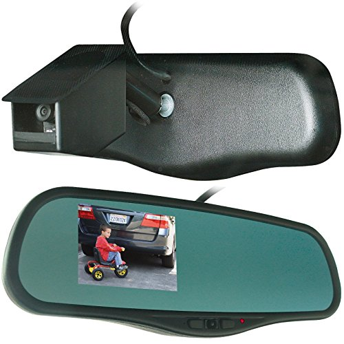 Vision System VS55020 GPS+CAM Front Camcorder and Back Up Camera with Monitoring System and GPS - Rear View Monitoring System