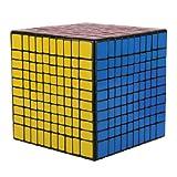 MY LIFE Magic Cube Twist Speed Magic Cube,Hot Birthday Holiday Party Gift Rubik's Cube (10x10x10)