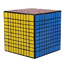 MY LIFE Magic Cube Twist Speed Magic Cube,Hot Birthday Holiday Party Gift Rubik's Cube (10x10x10)