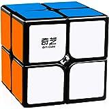 D ETERNAL Qiyi Qidi 2x2 High Speed Puzzle Cube,Black