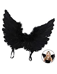 Hootech Angel Feather Wings Christmas Party Costume Butterfly Style Xmas Gifts