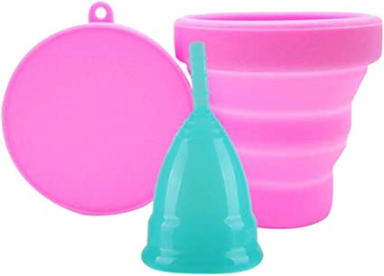 Gorgebuy Menstrual Cups Reutilizables y Juego de Cortador ...