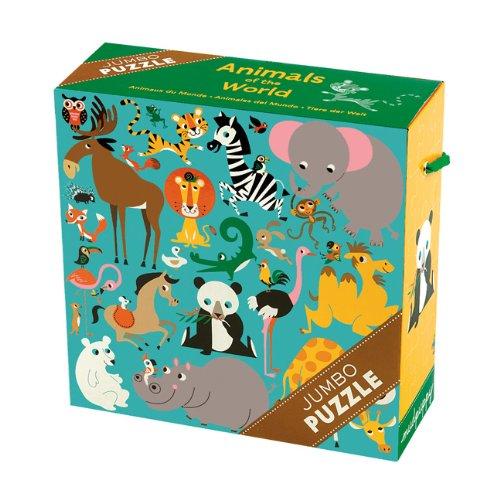 Animals of the World Jumbo Puzzle
