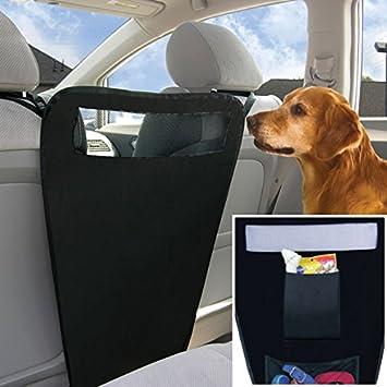 Eximtrade Universal Auto Coche Mascota Barrera Asiento Trasero Perros Gatos Animal: Amazon.es: Coche y moto