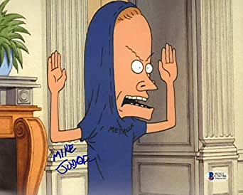 "MIKE JUDGE Signed Autographed ""BEAVIS & BUTTHEAD"" 8x10 Photo BECKETT BAS #C34786"