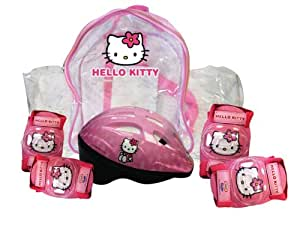 Hello Kitty - Set de 2 protecciones + casco (D'Arpèje OHKY04)