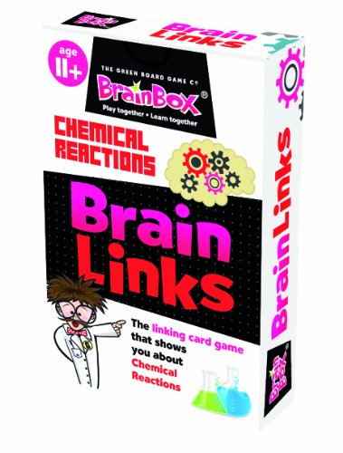 Green Board Games BrainBox BrainLinks Chemical -