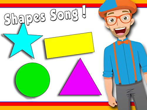Shapes Song by Blippi - Learn Shapes for Toddlers - Learn Nursery