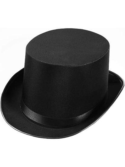 Amazon.com  New Deluxe Black Satin Magician Butler Formal Costume ... 86d3836bf4a6