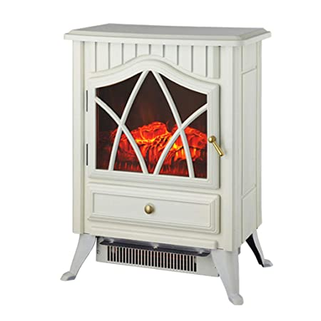 GCHOME Heater 3D Simulation Flame Fireplace,heater Household Glass