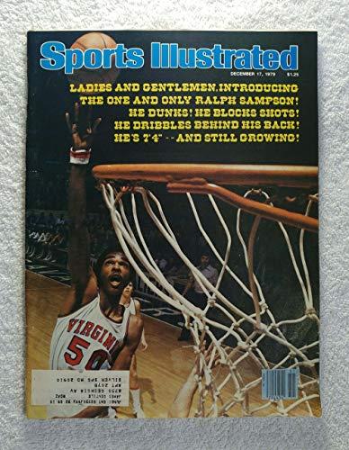 Ralph Sampson - Virginia Cavaliers - Sports Illustrated - December 17, 1979 - College Basketball - -