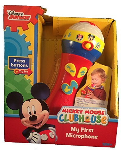 - Disney Junior Mickey Mouse Clubhouse My First Microphone