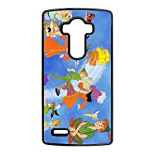 Durable Rubber Cases LG G4 Cell Phone Case Black Vtmpy Peter Pan Protection Cover