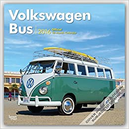 Volkswagen Bus 2016 Calendar 12 X 12in Browntrout Publishers