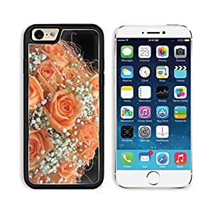 Roses Flowers Bouquet Lie Petal Apple iPhone 6 TPU Snap Cover Premium Aluminium Design Back Plate Case Customized Made to Order Support Ready Liil iPhone_6 Professional Case Touch Accessories Graphic Covers Designed Model Sleeve HD Template Wallpaper Phot