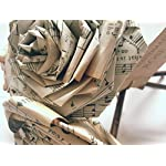 Old-Music-Notes-Paper-Rose-Bouquet-Vintage-Home-Decor-Artificial-Flora-Flowers-Gift-for-Her-Him-Music-Lover-Musician-Wedding-Paper-Flower-Bouquets-Handmade-Bunch-of-5-6
