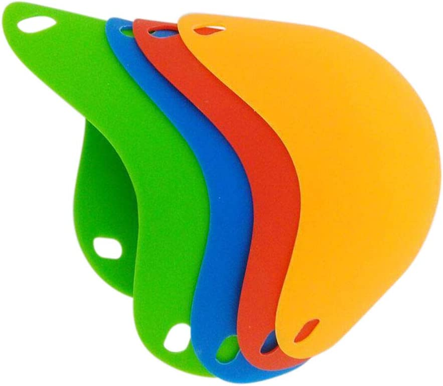 EliteKoopers 1 Pcs Random Colour Silicone Egg Poacher Mould Pan Poach For Cooking