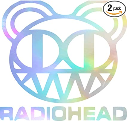 Radiohead  Sticker Decal *2 SIZES*  Vinyl Bumper Window Wall