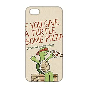 Slim Thin 3D Cartoon Happy Turtle For Ipod Touch 4 Phone Case Cover