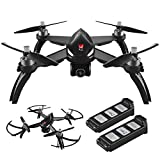 DronesGlobe MJX Bugs 2w [2 Batteries Included] 1080p Camera Drone with Long Battery Life - Long Range Drone with GPS, Altitude Hold, Headless Mode and Return to Home