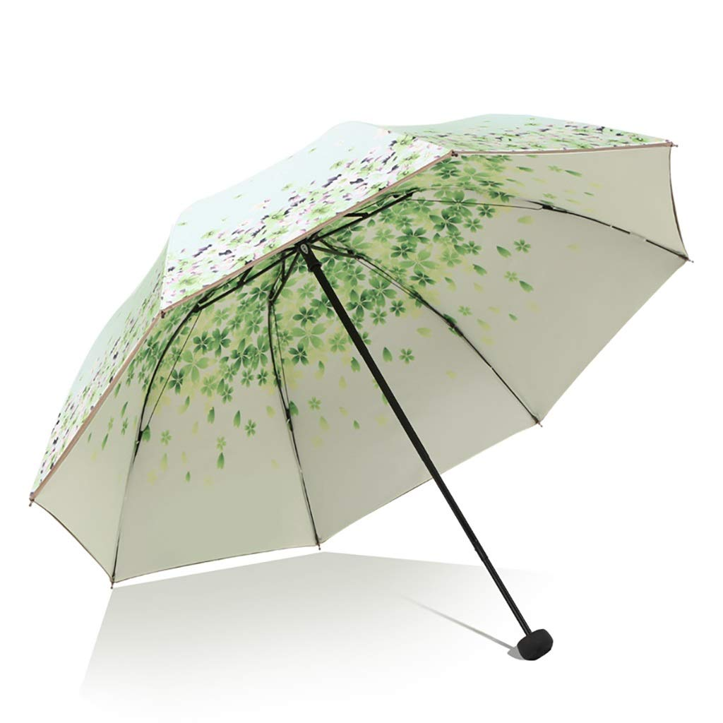 Umbrella Shi Hao Tian Manual Oversized Sun Protection and UV Protection Parasol Compact, Durable and Lightweight Multicolor Selection (Color : A)