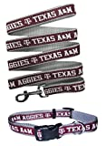Texas A&M Aggies Nylon Collar and Matching Leash for Pets (NCAA Official by Pets First) Size Large