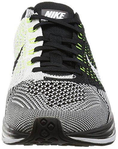 Bianco Scarpe nero Corridore Bianco Flyknit Nero Corsa Nike nero Uomo Da OO6q0