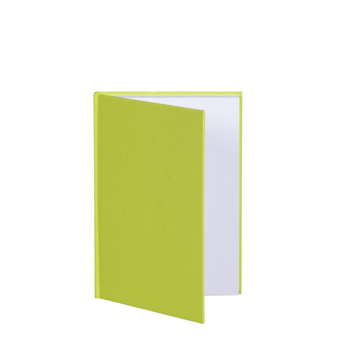 Rössler Papier - - S.O.H.O. Limette - geb. Notizbuch DIN A5 (gerippte Struktur) - Liefermenge  5 Stück