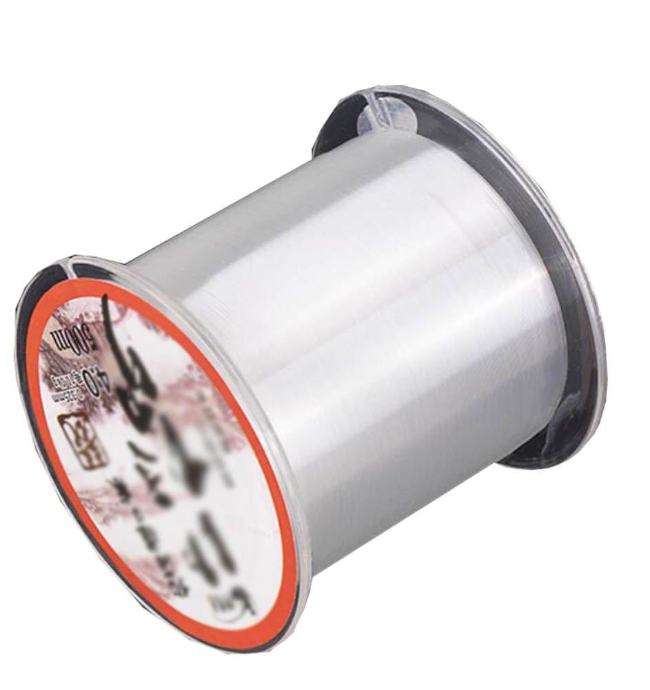 ジョージジミー釣り線抵抗ナイロンスレッド500 M強力なプル釣りワイヤ(透明)   B07BRTKHLC
