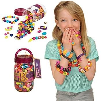 Amazon.com: B Toys - (275-Pcs) Pop Snap Bead Jewelry - DIY