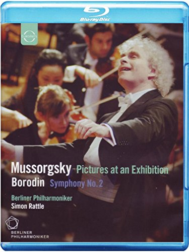 Modest Bread - Mussorgsky: Pictures at an Exhibition & Borodin: Symphony No. 2 [Blu-ray]