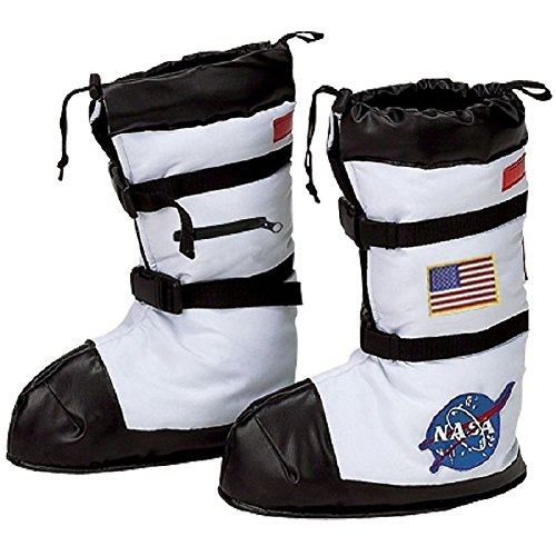 Jr. Astronaut Space Boots Costume Accessory Kids Halloween